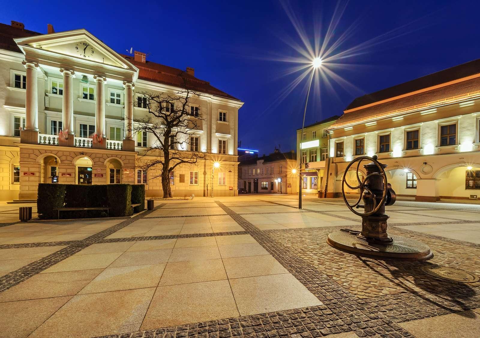 Rynek główny w Kielcach